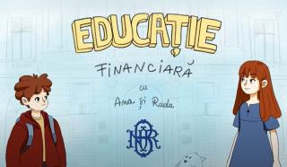 Banca Nationala a Romaniei continua sa faca educatie financiara, cu videoclipuri animate