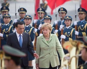 Germania si China au semnat o serie de acorduri comerciale