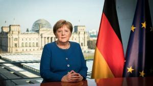 Pentru prima data in 14 ani de cand e cancelar al Germaniei, Merkel face un apel la cetateni: E o situatie serioasa