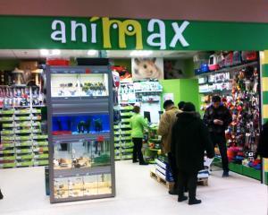 Dupa o investitie de 50.000 de euro, Animax a deschis al 39-lea petshop