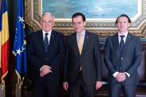 Premierul Lodovic Orban si ministrul Finantelor ureaza La multi ani Bancii Nationale a Romaniei