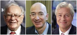 Amazon, JP Morgan si Berkshire Hathaway vor lansa un proiect care va prabusi industria farmaceutica si sistemul de asigurari medicale