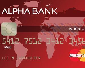 Alpha Bank ii tenteaza pe clientii premium cu un nou card