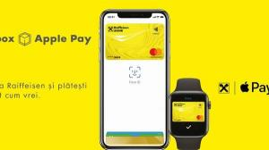 De astazi, clientii Raiffeisen Bank pot plati cu Apple Pay