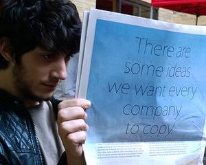 "Apple ar dori ca Samsung sa-i copieze ideile ""eco"""