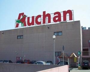 Profitul net al Auchan a scazut cu 11,5% in S1 2014