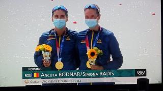 Prima medalie de aur cucerita de Romania la Jocurile Olimpice de la Tokyo 2020 vine din canotaj