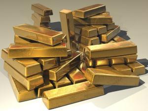 Pretul aurului, la cel mai scazut nivel din februarie 2016