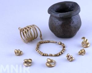 Muzeul National de Istorie a Romaniei inaugureaza expozitia Aurul si argintul antic al Romaniei