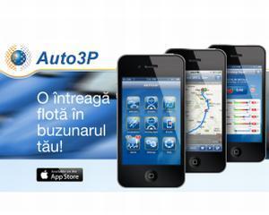Compania Auto 3P a lansat MultiFleet App
