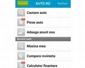 Aplicatia Auto.ro iti gaseste masina