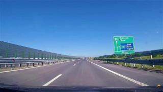 Fara restrictii de viteza pe Autostrada Lugoj-Deva