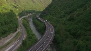 Incepe constructia autostrazii Sibiu-Pitesti. Se fac 9 tunele de 5 km pe cea mai frumoasa autostrada din Romania
