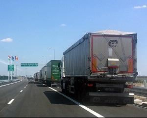 Lipsa autostrazilor, marea problema a companiilor de transport din Romania