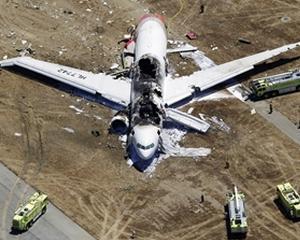 """Pilotii de pe zborul 214 au hotarat sa """"mai dea o tura"""", cu 1,5 secunde inainte de prabusire"""