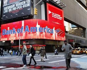 Bank of America va plati amenzi si despagubiri de 783 milioane dolari