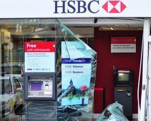 Tot mai putine banci din Marea Britanie sunt jefuite