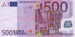 Europa nu mai tipareste bancnote de 500 de euro de teama infractorilor