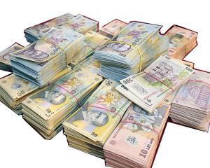 34,8 miliarde de lei, valoarea banilor care circulau in Romania, in decembrie