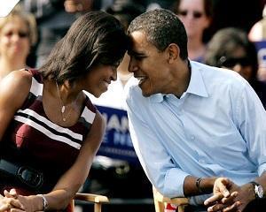 Cuplul prezidential Obama vrea sa-si invete fetele sa traiasca din salariul minim