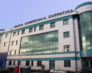 Profitul Bancii Comerciale Carpatica a crescut cu 74,8 la suta