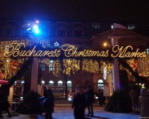 Din 29 noiembrie, se deschide Bucharest Christmas Market