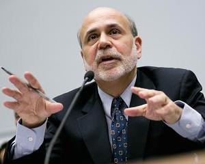 Ben Bernanke face bani buni din vorbe