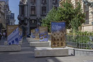Banca Nationala a Romaniei dedica o expozitie in aer liber aniversarii a 140 de ani de la infiintarea institutiei