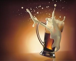 Cat muncesc un roman si un neamt pentru o bere