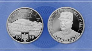 BNR ii dedica o moneda lui Henri Mathias Berthelot