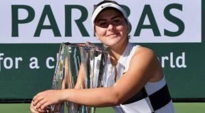 Bianca Andreescu castiga Indian Wells dupa o victorie formidabila in fata fostului lider mondial Angelique Kerber