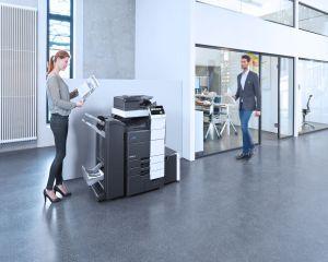 Konica Minolta lanseaza un nou echipament destinat unui volum mare de printare