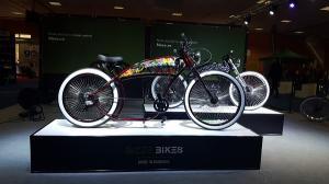 Bizze Bikes prezinta, in premiera, la Salonul Bicicletei din Bucuresti,  prima bicicleta electrica romaneasca de tip chopper