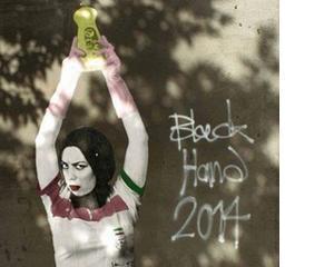 """Banksy de Teheran: """"Zidurile orasului meu devin panze pentru arta"""""""