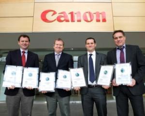 Canon Europe, premiata de 12 ori de organizatia Buyers Laboratory