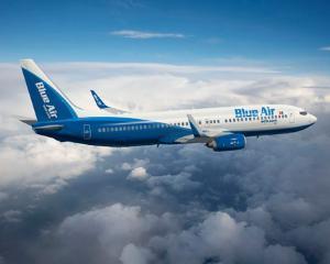 Ia romaneasca este la inaltime, la bordul avioanelor Blue Air