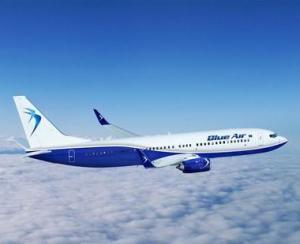 Un nou record pentru Blue Air: peste 5 milioane de pasageri