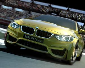"BMW M4 Coupe, lansat ""virtual"" in Gran Turismo 6"