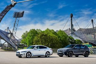 BMW iX si BMW i4 - dublul trasnet bavarez ajunge in Romania