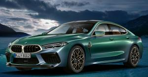 BMW lanseaza First Edition M8 Gran Coupe. Arata precum conceptul