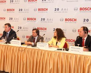 Bosch incepe productia intr-o noua fabrica din Cluj