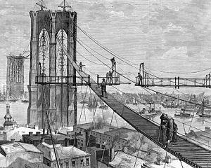 24 mai 1883: se inaugureaza podul Brooklin