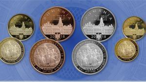 BNR dedica o emisiune numismatica implinirii a 100 de ani de la Unirea Bucovinei cu Romania