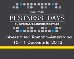 Grabeste-te sa te inscrii la BUCURESTI BUSINESS DAYS, evenimentul de business al anului