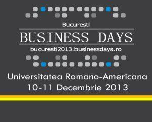 Grabeste-te sa te inscrii la BUCURESTI BUSINESS DAYS, evenimentul de business al anului