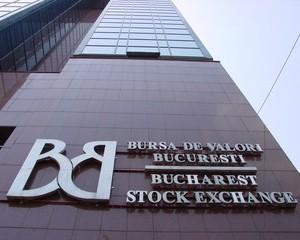 Pretul actiunilor BVB a crescut cu 7,39 la suta
