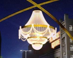 Cel mai mare candelabru din lume va folosi LED-uri GE