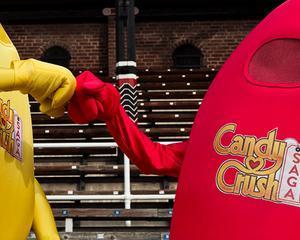 """Jumatate de miliard de utilizatori joaca """"Candy Crush Saga"""""""