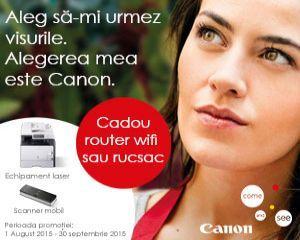 Canon pune la dispozitie o gama larga de solutii personalizate pentru afacerile mici