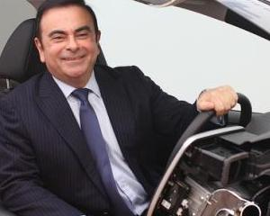 Actionarii Nissan l-au reales pe Carlos Ghosn in functia de CEO